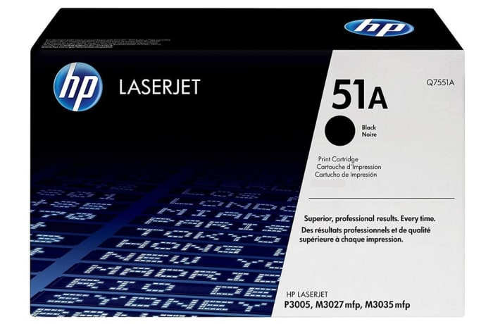 Printer Toner Cartridges - Hewlett Packard 51A (HP Q7551A) Black Toner Cartridge
