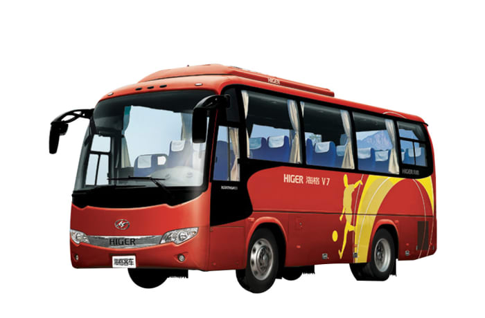 30 Seater Higer bus - KLQ6796