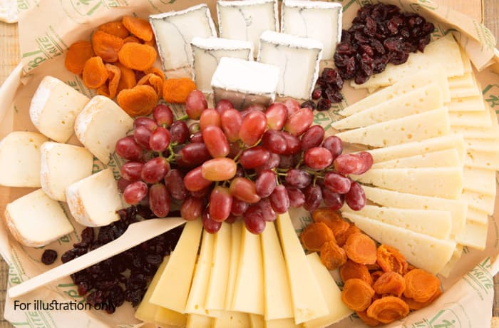 Stable Feasts  - Cheese Wheel for 4 - Vegetarian