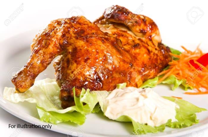 Barn Grills - Char Grilled Chicken, 1/2