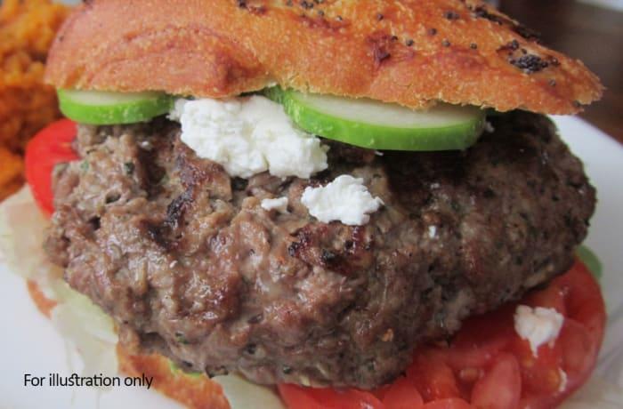 On the Bun - Lamb & Parmesan Burger
