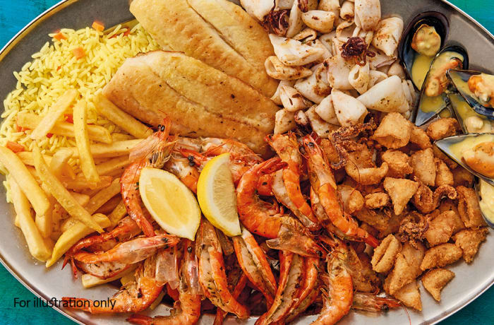 Stable Feasts  - Seafood Platter *New for 4