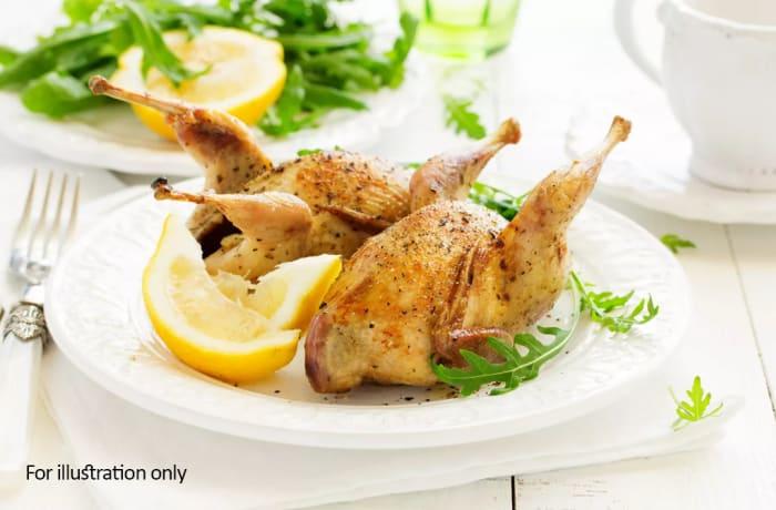Starter Bits - Lemon & Herb Grilled Quail