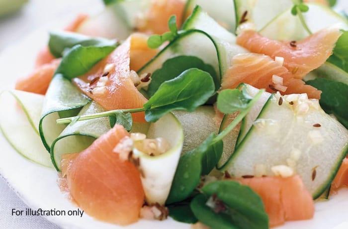 Starter Bits - Salmon Tartar
