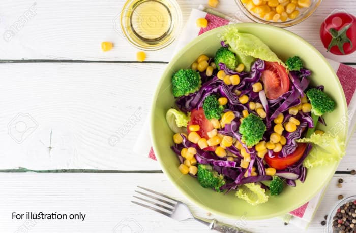 Starter Bits - Toss Table Salad - Vegetarian