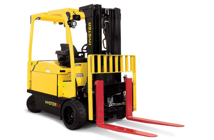 Hyster E4.0-5.5XN Electric Counterbalanced Fork Lift Truck