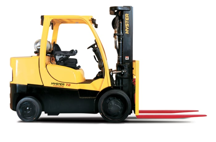Hyster® Fortens® S6.0-7.0FT series Compact Diesel and LPG Counterbalanced Fork Lift Truck