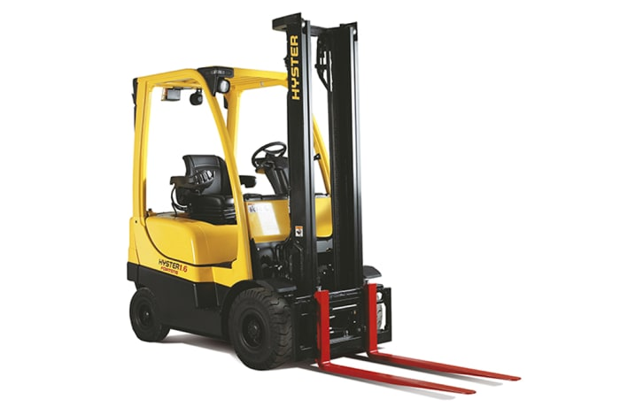 Hyster H1.6-2.0FT Diesel and LPG Counterbalanced Fork Lift Truck