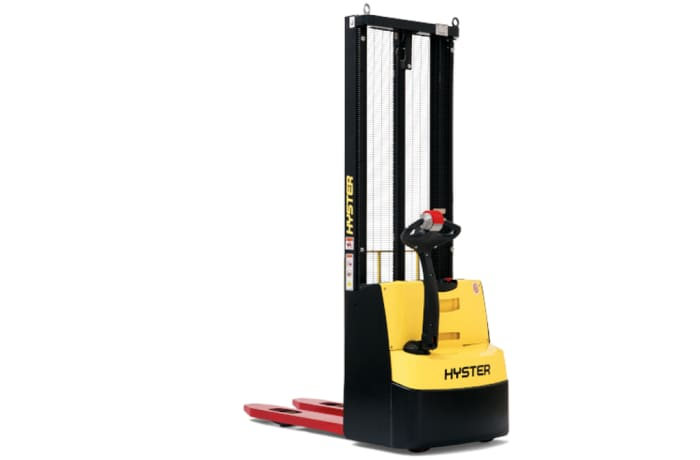 Hyster Powered Pedestrian Stacker