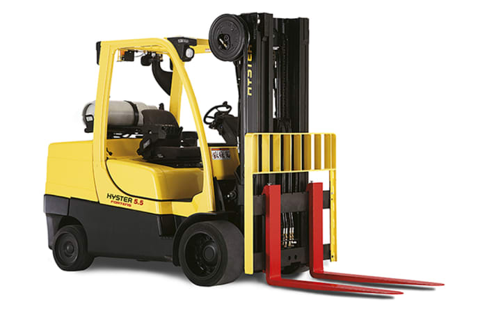 Hyster S4.0-5.5FT Compact LPG Counterbalanced Fork Lift Truck