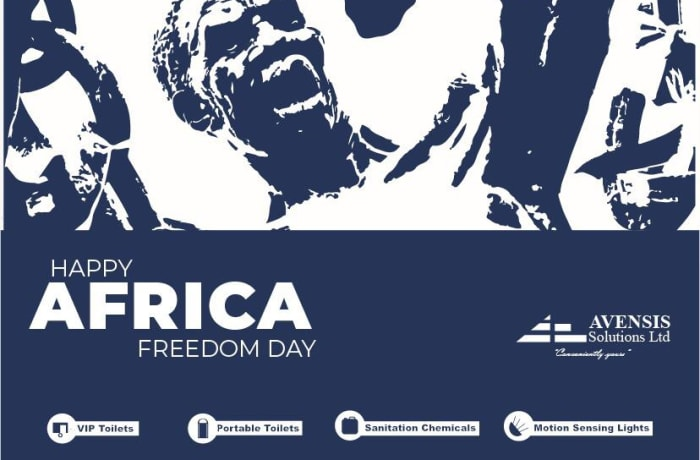 Happy Africa Freedom Day from Avensis Solutions Ltd image