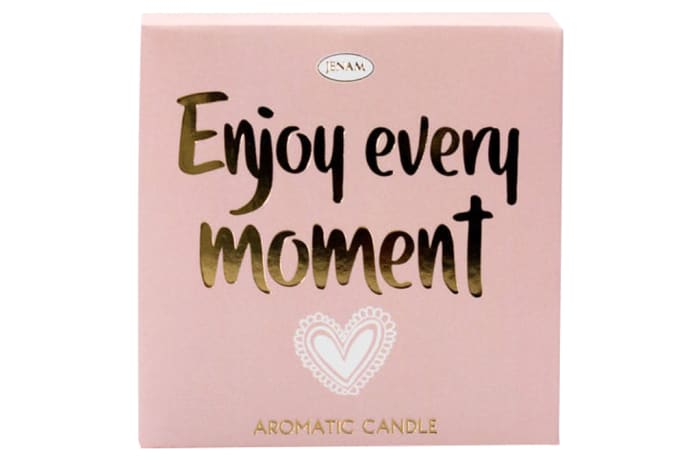 Inspire Aromatic Candle - Enjoy Every Moment - Orchid Scented