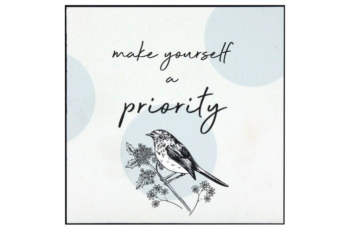 Jenam Wall Art - Make Yourself A Priority