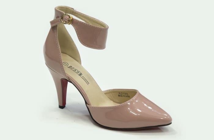 Jessy Fasion - Ankle Strap Heels Peach