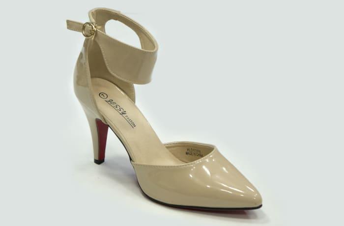 Jessy Fasion  - Ankle Strap Heels Tan