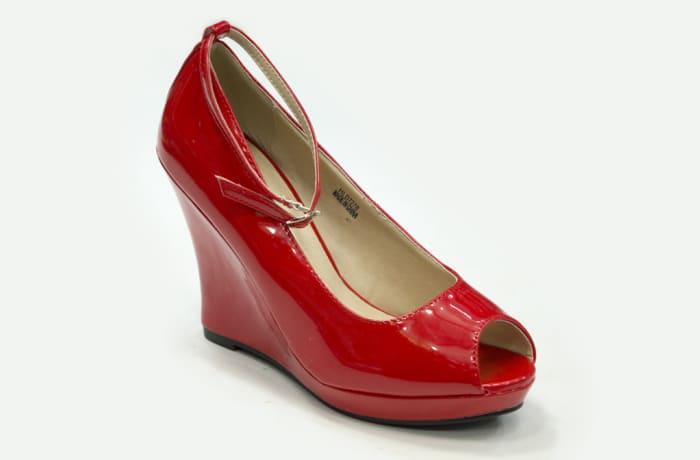 Jessy Fasion - Wedge Heels Red