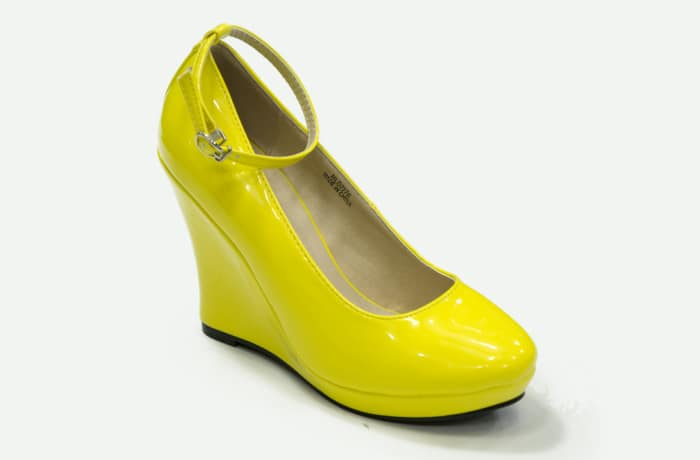Jessy Fasion - Wedge Heels Yellow