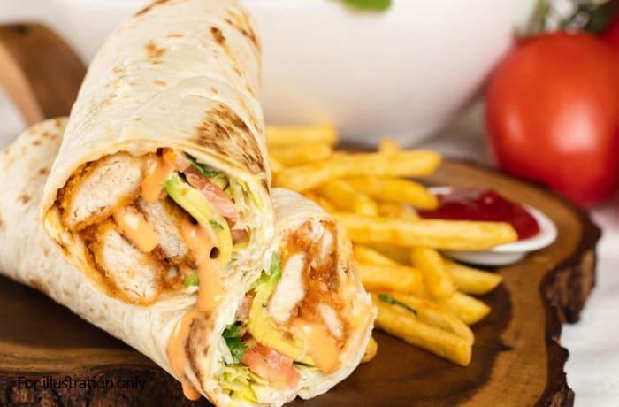 Specials - Chicken Wrap