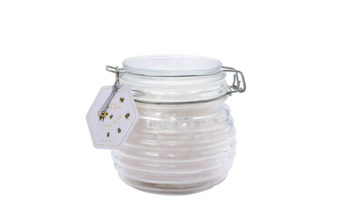 Just Bee - Bath Salts in Honeypot Jar