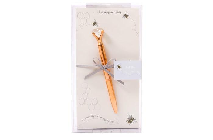 Just Bee - Magnetic Memo Pad & Pen Set