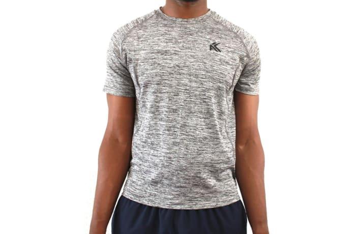 Men's Elite T-Shirt - Splinter Grey
