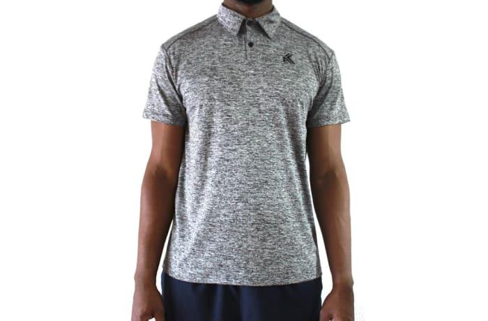 Men's Polo Shirt - Splinter Grey