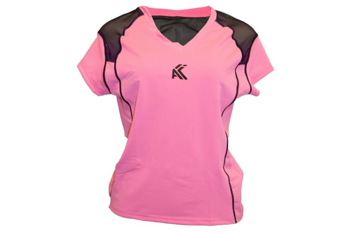 Women's Mesh T-Shirt - Light Pink