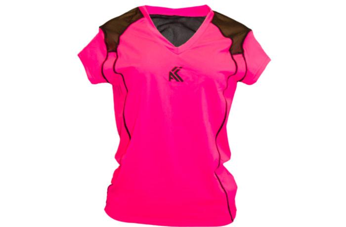 Women's Mesh T-Shirt - Pink