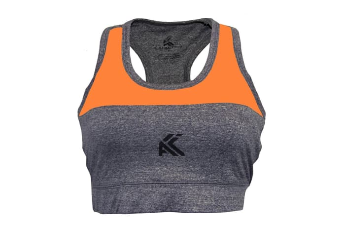 Women's Sports Bra / Crop Top - Orange