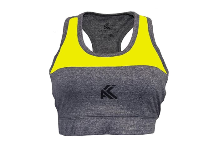 Women's Sports Bra / Crop Top - Yellow