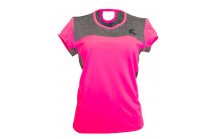 Women's Tech T-Shirt - Dark Pink