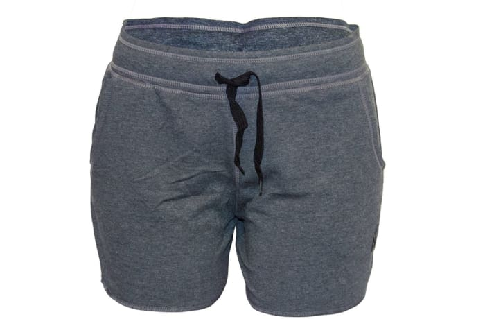 Women's Unbrushed Jogger Shorts - Grey