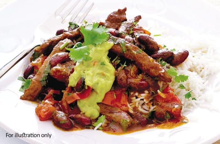 Bites & Starters - Add Chilli Con Carne Beef