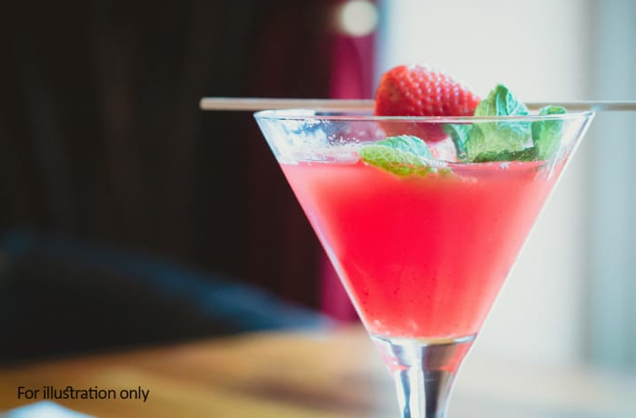 Tantalising Cocktails - Classic Style Cocktails - Strawberry Daiquiri