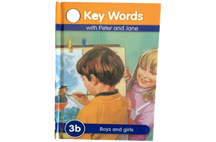Key Words - With Peter And Jane – 3b Boys And Girls