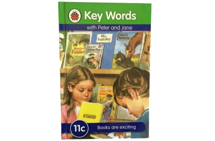 Key Words - With Peter And Jane – 11c Books Are Exciting