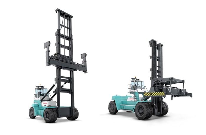 Konecranes container lift trucks