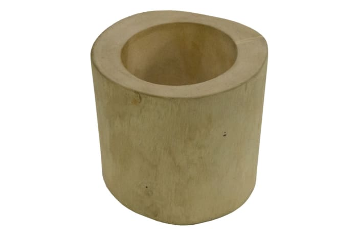 Candle Holders - Wooden Cylinder Candle Stick Holder