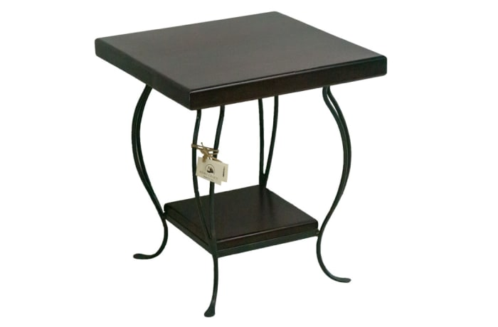 Coffee Tables -  Steel Wide Siankaba Side Table