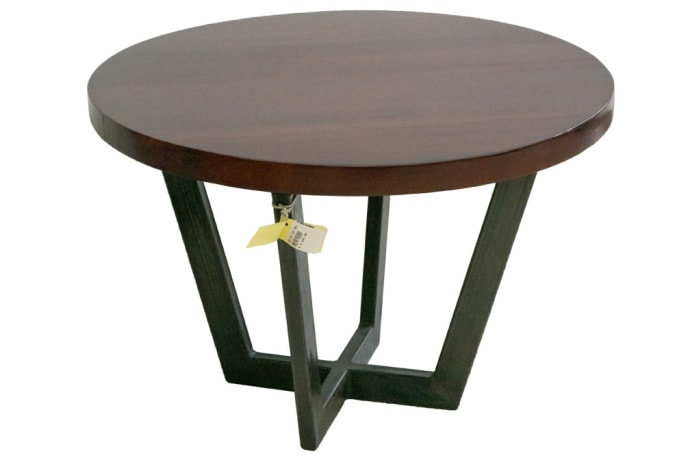 Coffee Tables - Square Tube Steel Legs Round table