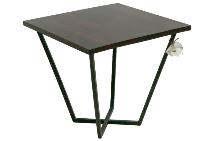 Coffee Tables - Steel X Legged Square Coffee Table