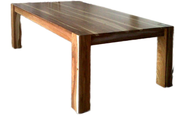 Dining Room Tables - Square Legs thick top  6-seater