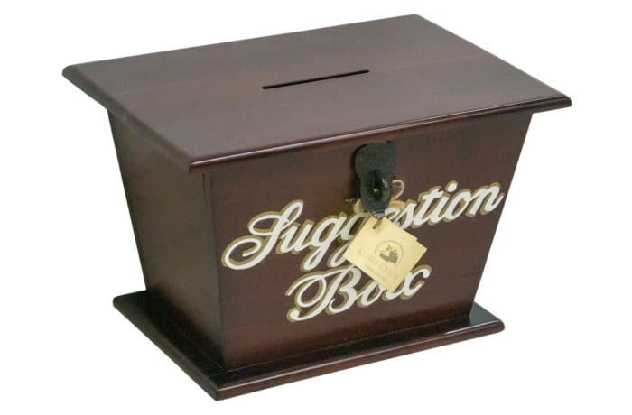 Office Furniture - Suggestion Box