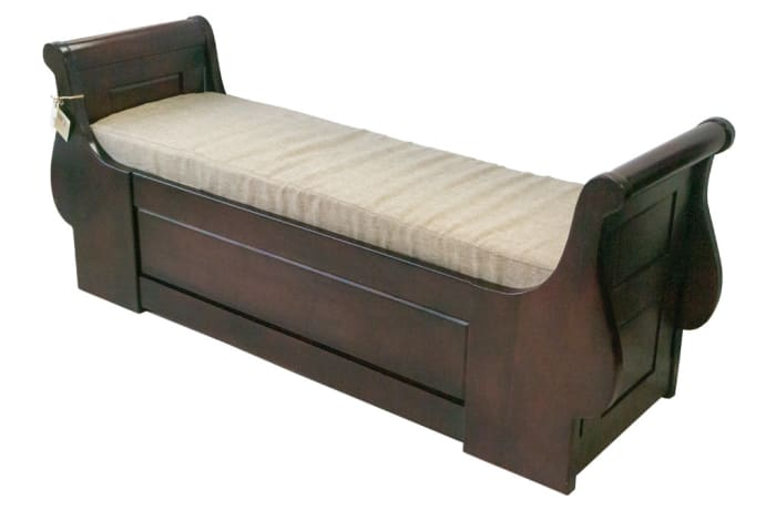 Stools & Ottomans - Sleigh Bed-end Stool
