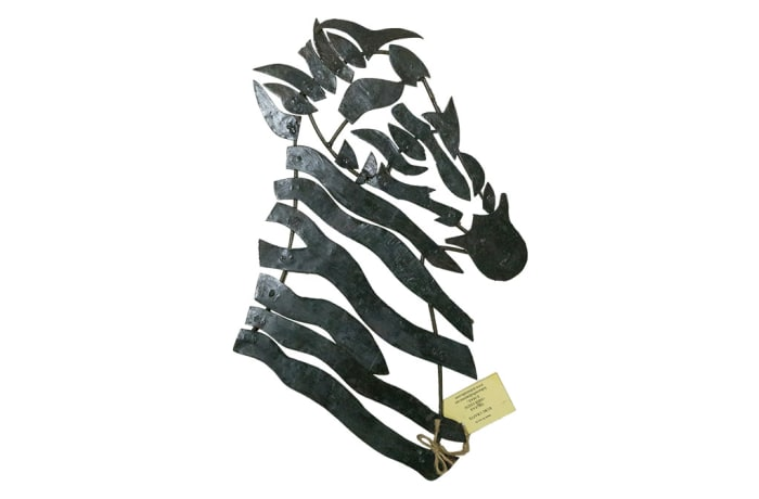 Wall Hanging - Artistic Metal Zebra head