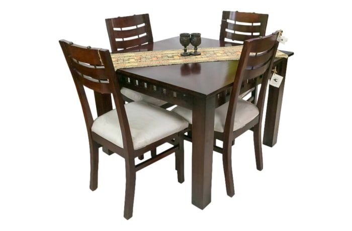 Dining Room Tables - 4 Seater Square Dining Table