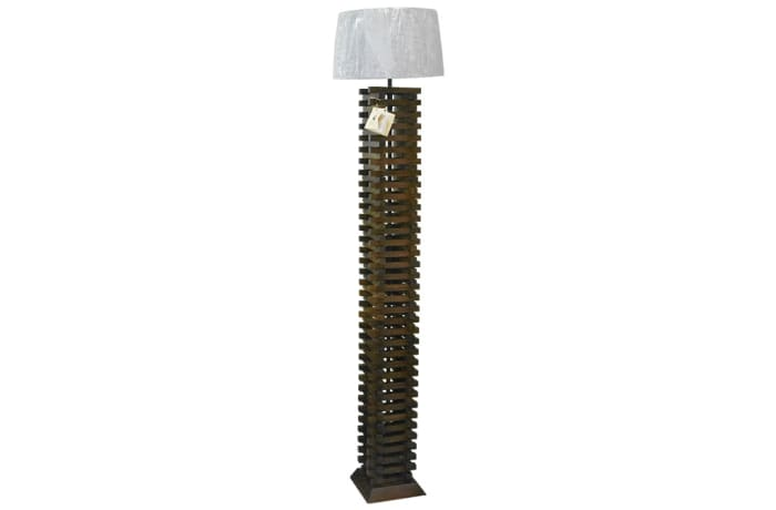 Reading Lamps - Tall Stacked Pieces Lamp