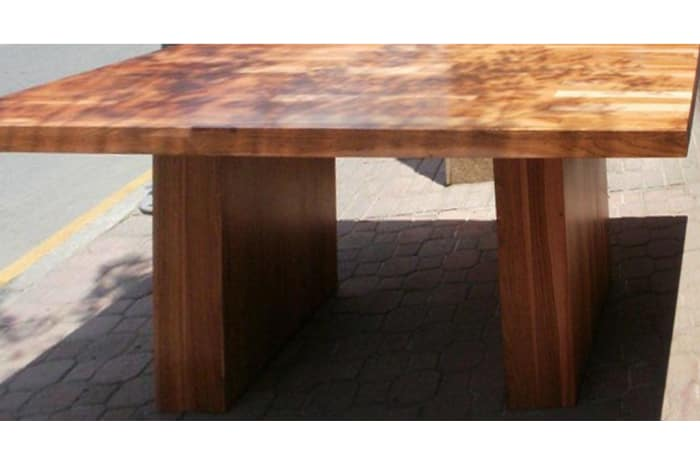 Modern solid wood Dining Table light