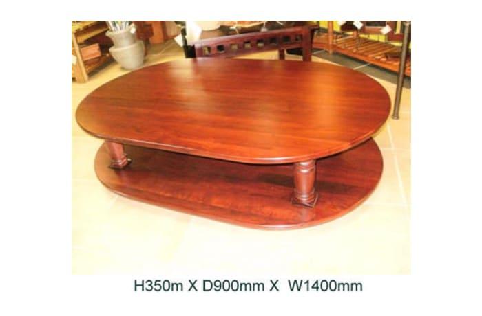 Mulenga oval coffee table