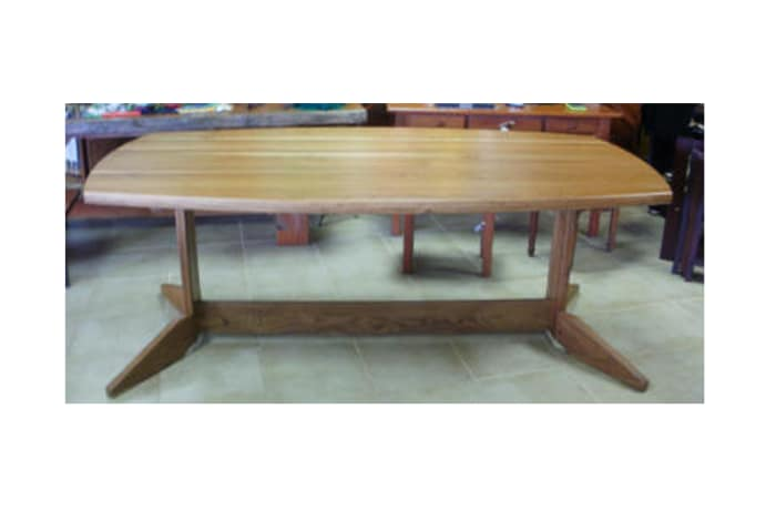 Semi-Oval Dining table